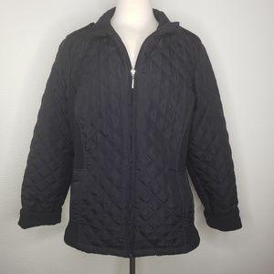 Weatherproof Black Quilted Lightweight Jacket
